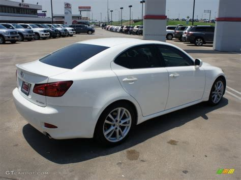 white lexus is 250 2006 white lexus is 250 49950285 photo 4