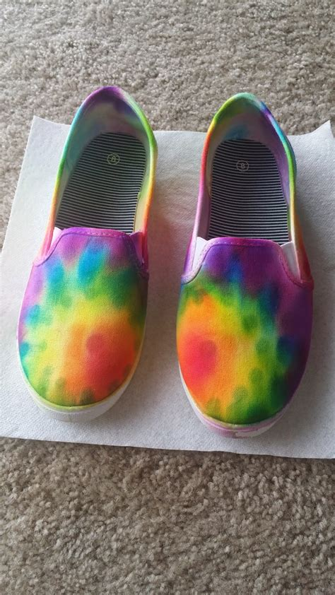 diy tie dye shoes made in michigan diy tie dye shoes with sharpies