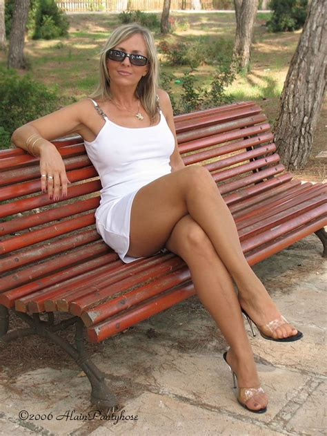 fucking on park bench 46 best milfs images on pinterest thighs boudoir