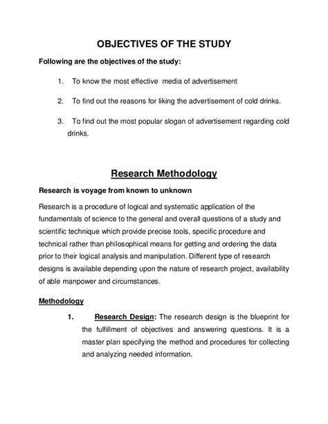 Sample Research Assistant Resume by Objectives Of The Study
