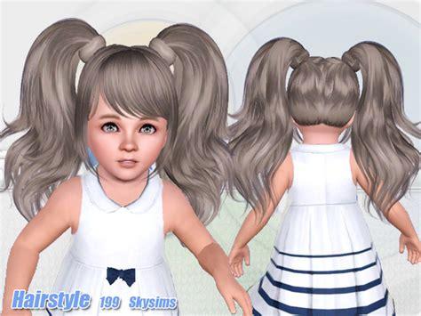 the sims resource tsr anime hair 199 by skysims sims 3 skysims hair 199