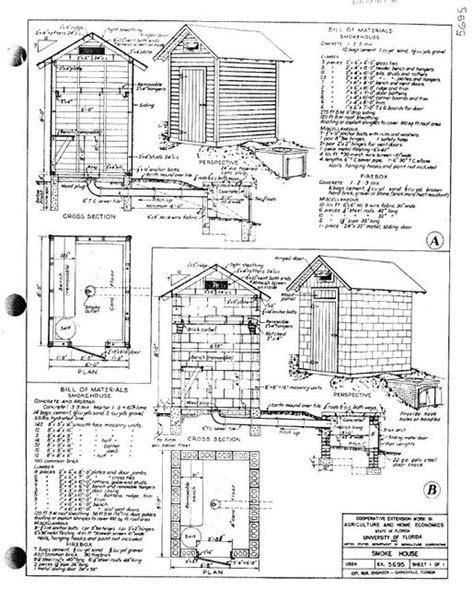 small smokehouse plans
