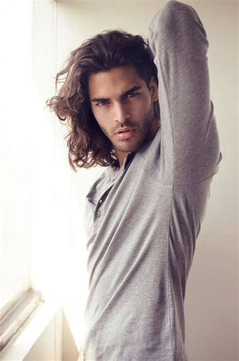 long haired male models mario blanco long hair and rocking the whole mean n