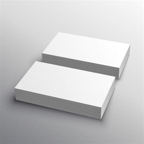 Business Cards Mockup Template Ai by Business Cards Mockup Vector Free