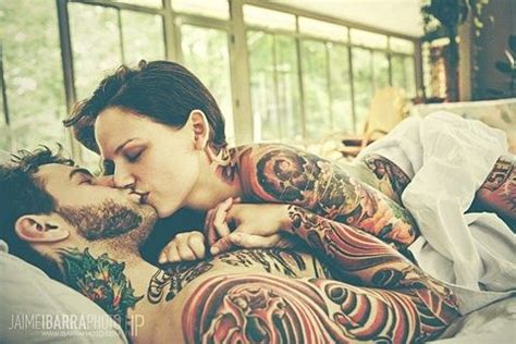 hot tattooed couples 1000 images about cool tattoos on sleeve
