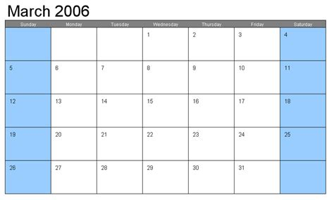 large calendar template great printable calendars