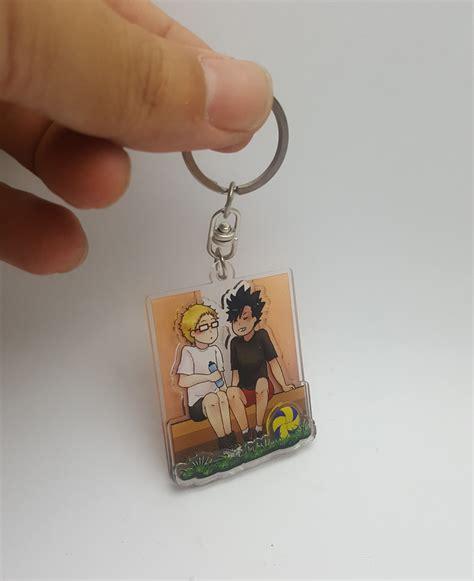 Custom Ganci Gantungan Kunci acrylic keychain custom tukangprint