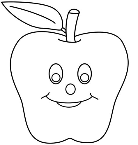 coloring pages for smiley smiley apples coloring pages for coloring point