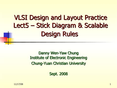 layout design vlsi ppt lect5 stick diagram layout rules