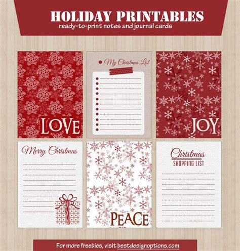 printable christmas journal 1000 ideas about journal cards on pinterest project