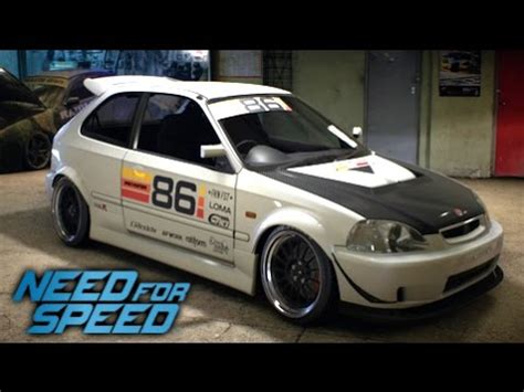 Civic Type R Tune by Need For Speed Honda Civic Type R 2000 Tuning