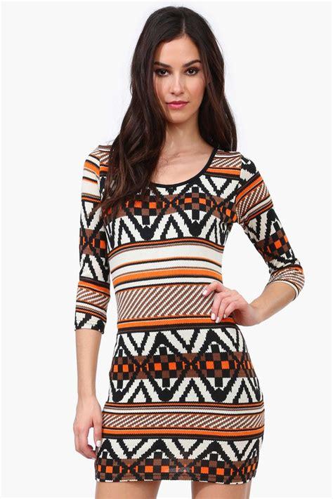 Fashion Dress 340183 3 rory tribal sweater dress fashion inspiration