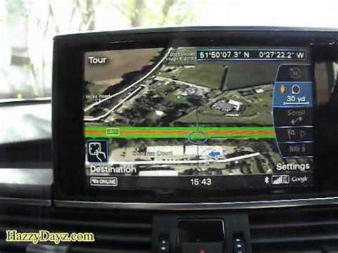 Audi Connect Sim Karte by Mmi 3g Plus Earth Demo Non Sim Version