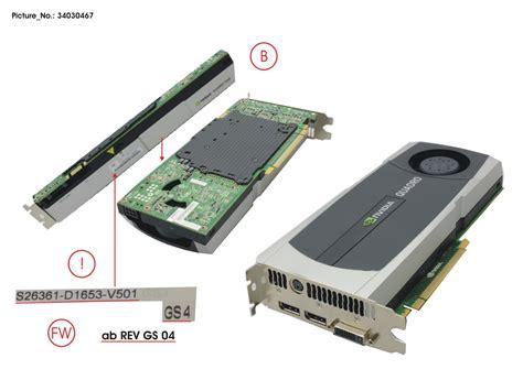 Vga Quadro 5000 Vga Nvidia Quadro 5000 2 5gb St Pci E