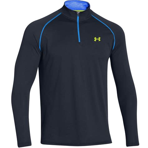 Work Out Shirt armour 2017 mens ua tech 1 4 zip sleeve top