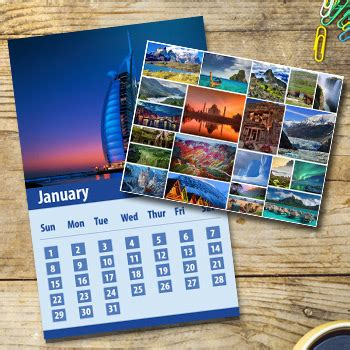 Low Cost Calendars Photo Calendar Printing At Low Cost 8 5x11 Color