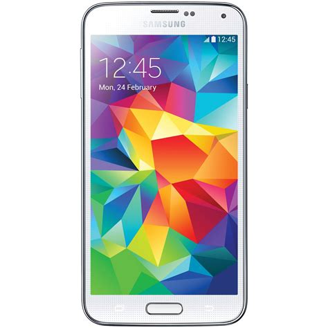 samsung galaxy s5 samsung galaxy s5 sm g900h 16gb smartphone sm g900h white b h