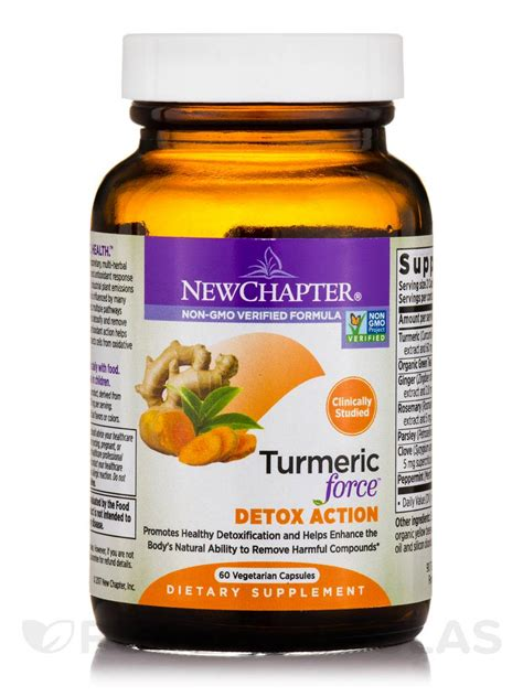 Turmeric Powder For Detox by Turmeric Detox 60 Vegetarian Capsules