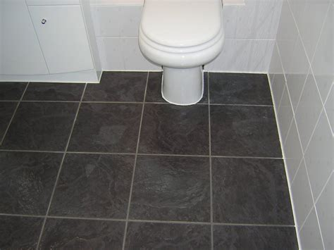 black vinyl sheet flooring for small bathroom spaces with