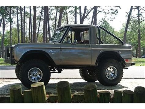 purchase used restored 1969 ford bronco half cab in largo