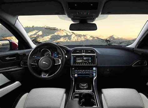 jaguar cars interior 2018 jaguar xe announced update and features 2018 2019