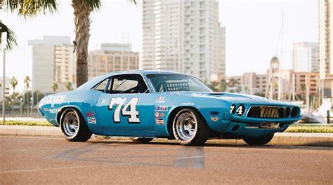 Dodge Race by 1973 Dodge Challenger Race Car Ex Dale Earnhardt