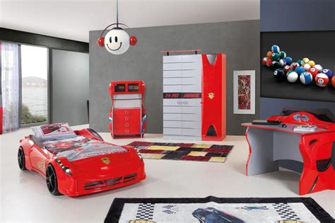 17 Awesome Car Inspired Bed Designs For Boys Rilane Car Themed Bedroom Furniture