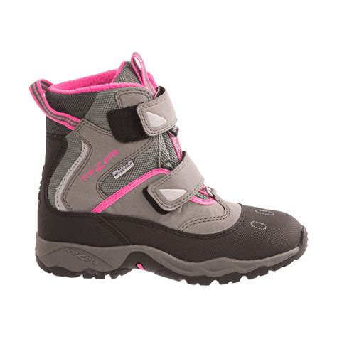 youth hiking boots trezeta cyclone thermo snow hiking boots for and