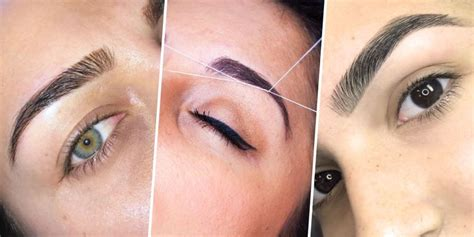 should you tattoo your eyebrows what eyebrow threading feels like should you thread your