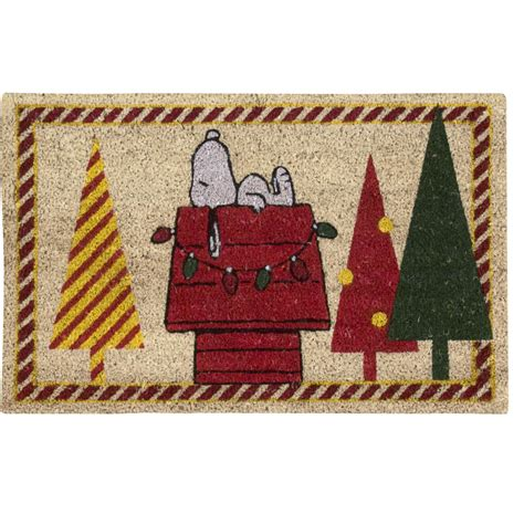 christmas accent rugs nourison peanuts welcome quot christmas tree quot ivory accent rug by