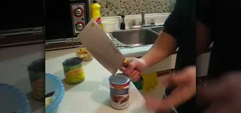 how to open a can with can opener how to open a can with no can opener 171 kitchen utensils