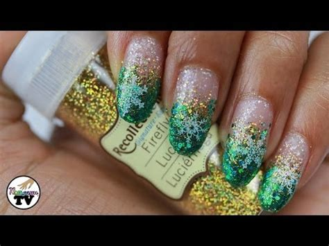 nail art konad tutorial winter nail art tutorial with konad snowflakes sts
