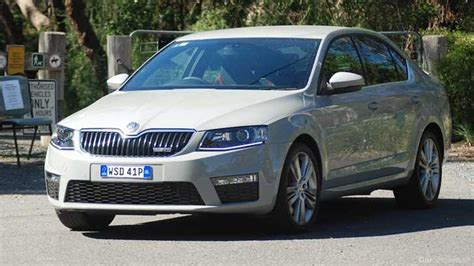 skoda car showroom review skoda octavia rs sedan review and road test