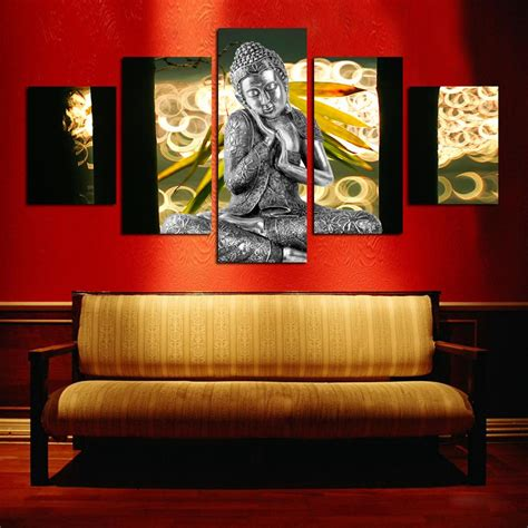 how to sell home decor online hot sell free shipping wall art buddha painting on canvas