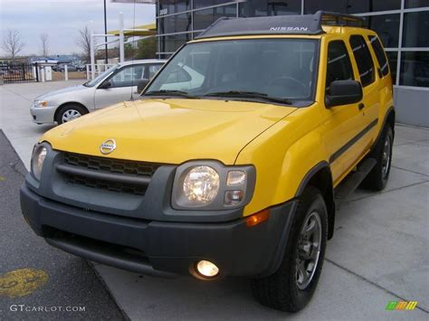 nissan yellow 2004 solar yellow nissan xterra se 4x4 11355653 photo 9