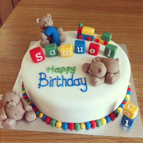 baby boy  birthday cake ideas