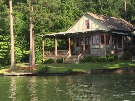 Small Cabin Plans With Porch king s cove lake martin lake house vrbo