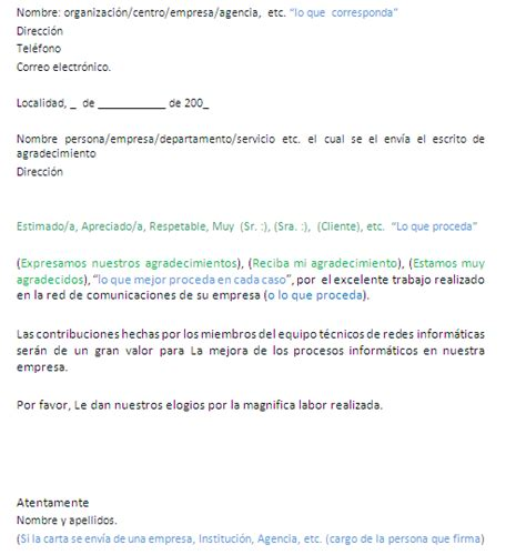 carta formal de agradecimiento modelo de carta de agradecimiento design bild