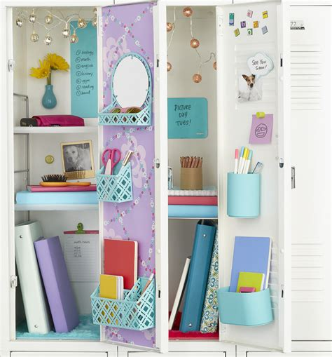 How To Make Locker Decorations At Home Locker Organization Four Different Ways Container Stories