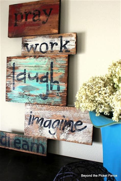 diy wise words pallets wood 99 pallets