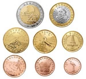 Tolar serie euros eslovenia eurocoinland