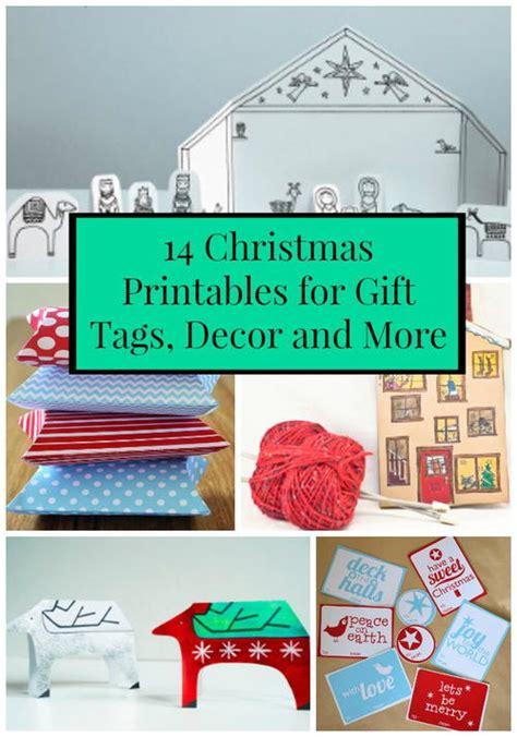 christmas gift tags printable decor 14 christmas printables for gift tags decor and more