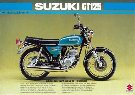 Suzuki Brochure Suzuki Gt125 Brochure Scans