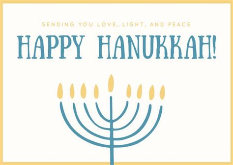 hanukkah card template customize 48 hanukkah card templates canva