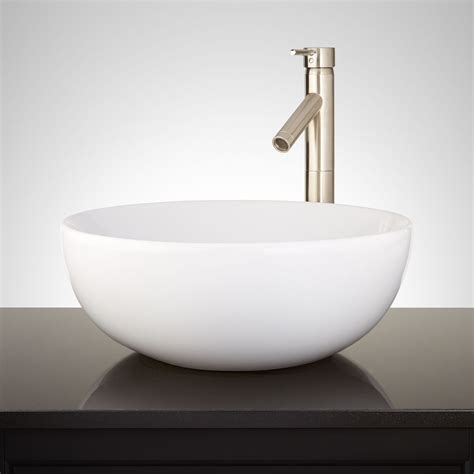 white bathroom sinks toucey porcelain vessel sink white vessel sinks bathroom sinks bathroom