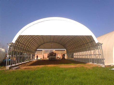 tettoie agricole tunnel coperture agricole e industriali mps