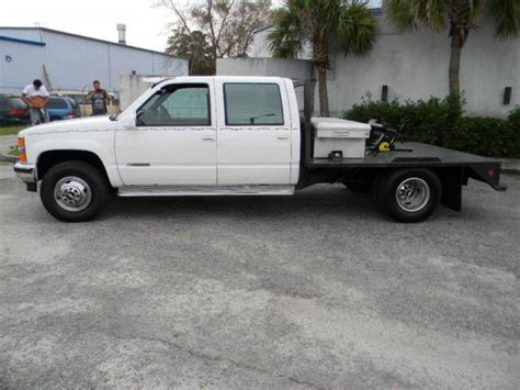 1993 chevrolet silverado 3500 dully 4x4 crew cab western hauler totally rebuilt for sale in