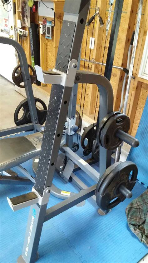 marcy weight bench attachments letgo marcy weight bench lat pull d in somers point nj