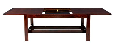 Coffee Table That Extends Up 20th Century Rosewood Extending Coffee Table Ebay