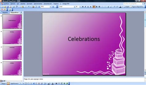 free templates for powerpoint cakes cake powerpoint templates